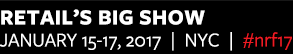 Retail's BIG Show 2017. Convention and EXPO: January 15-17, 2017. Jacob K. Javits Convention Center, NYC. #nrf17.